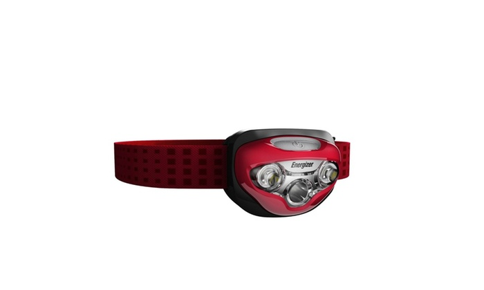 Energizer Vision HD LED Headlight-Red