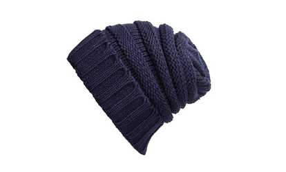 adef38510b1 Shop Groupon Stretch Cable Slouchy Beanie Hat Trendy Warm Chunky Soft Knit  Cap