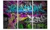 Graffiti Wall Urban Art - Abstract Street Art Metal Wall Art