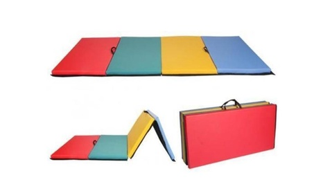 NEW All color Folding Panel Gymnastics Mat Gym Fitness Exercise Mat