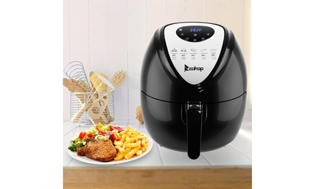 6.8QT 1800W Electric Air Fryer, Kitchen Appliance With Non-Stick Coating photo