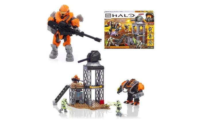 Halo Containment Outpost Patrol Set Mega Bloks Spartan Glow