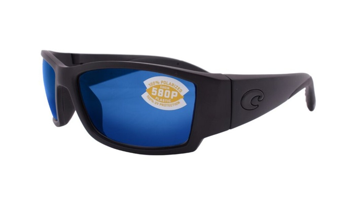268841311764f Costa Del Mar Corbina CB 01 OBMP Blackout   Blue Mirror 580P Polarized