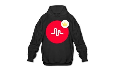 Custom Musically Men's Blank Hooded Sweatshirt fb3889a2-3233-477a-9867-2c07223f330a