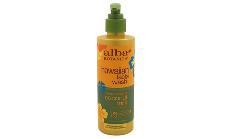 Alba Botanica Hawaiian Coconut Milk Facial Wash Facial Wash 545fec5e-e16c-46b4-85fd-8a5021e41a37