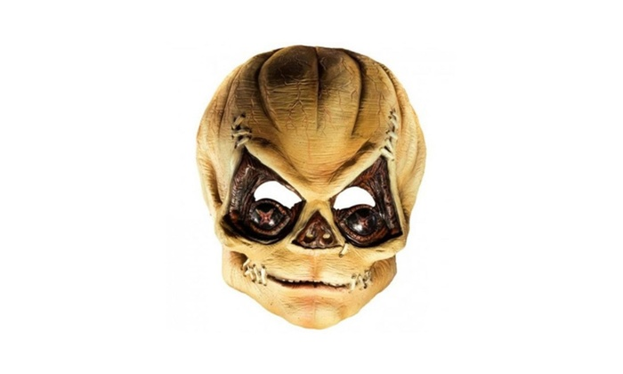 Trick R' Treat Pumpkinhead Mask Officially Licensed Costume Horror
