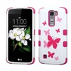 Insten Tuff Butterfly Hard Hybrid Silic Case For Lg K7 Tribute 5