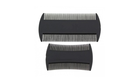 2 Packs of 2 Lice Comb Sets For Removing Nits Lice and Eggs df038d52-bc39-4344-8ce1-bb22771edaa1