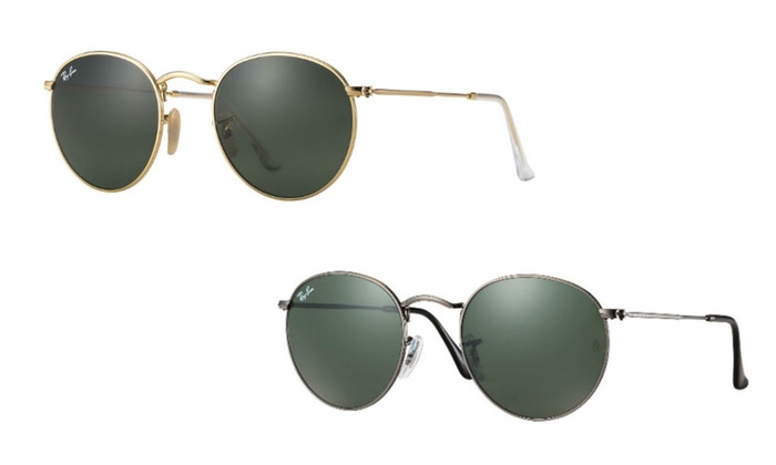 080d2101b4e94 Ray Ban RB3447 Round Metal Sunglasses