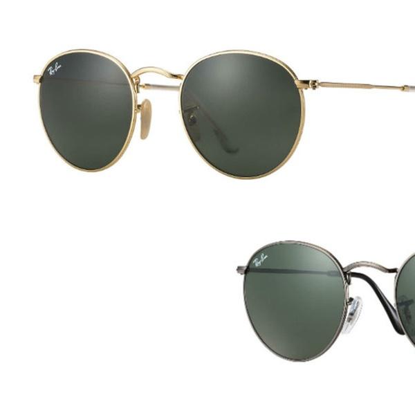 080d2101b4e94 Ray Ban RB3447 Round Metal Sunglasses