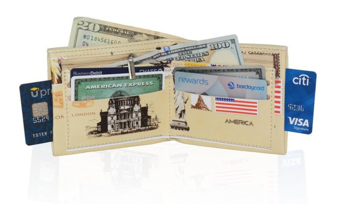 Fun Fashion Style Men's Billfold Wallet