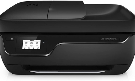 HP OfficeJet 3830 All-in-One Wireless Printer, Works w/ Alexa K7V40A-Refurbished