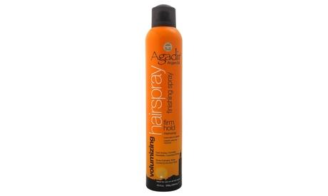 Argan Oil Firm Hold Hair Spray by Agadir for Unisex - 10.5 oz Spray