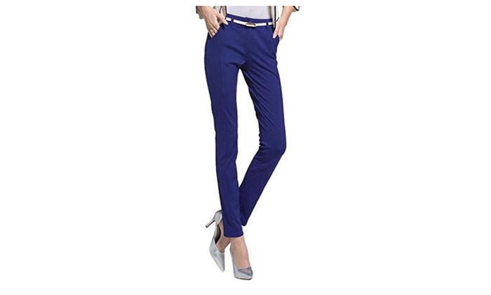 Women's Workwear Cotton Powerflex Stretch Skinny Pants