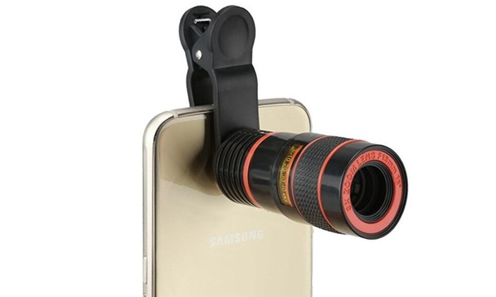 Up to off on universal clip camera mobile groupon goods