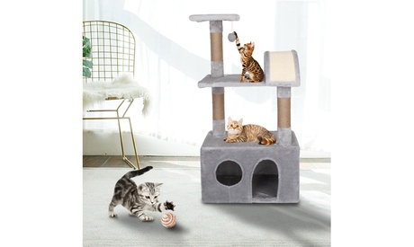 Cat Tree Luxury Cat Tower with Plush Condos (Goods Pet Supplies Cat Supplies Cat Trees & Condos) photo