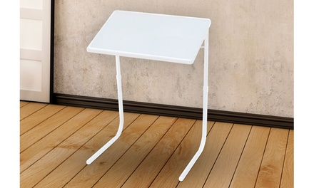 Adjustable Folding Table, TV Tray
