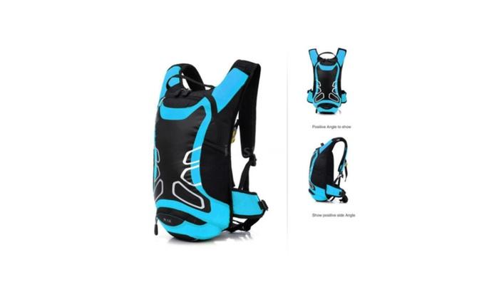 12L Bicycle Shoulder Backpack Sport Hydration Water Bag Rucksack P5J2