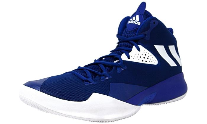 d891c6abac5 Adidas Men s Dual Threat 2017 High-Top Basketball Shoe