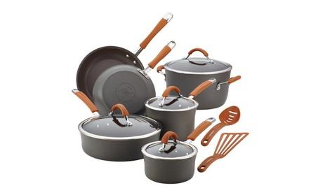 Rachael Ray 87635 Cucina Hard-Anodized Nonstick Cookware Set 9c5df6c3-387e-45b4-ba3f-a46dc675f8ff