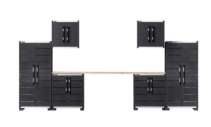 Garage System Utility Tool Storage