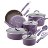 Rachael Ray Cucina Cookware Set, 12pc., Lavender Purple