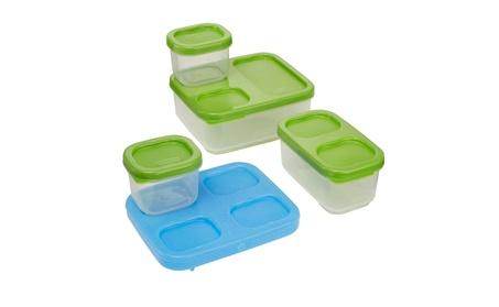 Rubbermaid LunchBox Sandwich Kit, Food Storage Container, Green b8ac2156-24f7-4cf9-b44c-737297c2e41c