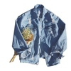 Men's New Denim Outwear Casual Winter Long Sleeves Jacket With Pocket