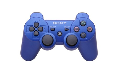 Sony Playstation 3 Blue Wireless Bluetooth Controller New in Box a53672dc-4cfd-4a27-8d14-47f782ef8d32