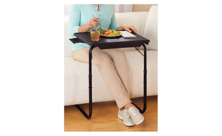 Portable & Foldable Comfortable TV Tray Table w/Cup Holder 513d04dc-2178-4d4a-9596-48da2d0c6eef