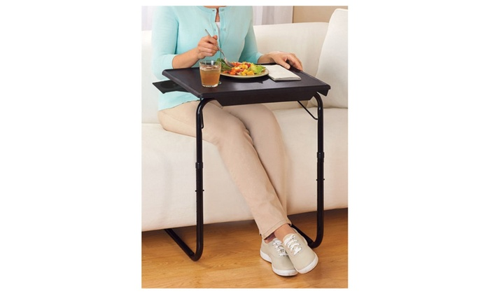 5 Star Super Deals: Portable U0026 Foldable Comfortable TV Tray Table W/Cup  Holder ...