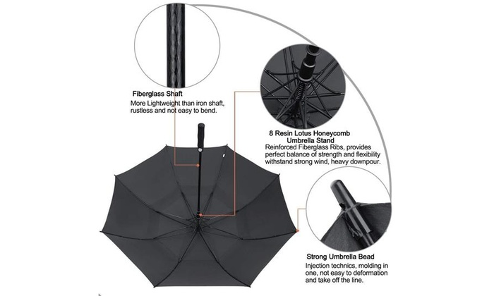 991c135b746d Up To 61% Off on Golf Umbrella Extra Large Aut... | Groupon Goods