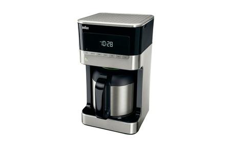 Braun KF7155BK BrewSense Thermal Drip Coffee Maker - Black f1c39d28-7e78-478a-830f-5973fda21844