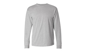 Hanes ComfortSoft Long Sleeve Crewneck T-Shirt, 5586-1