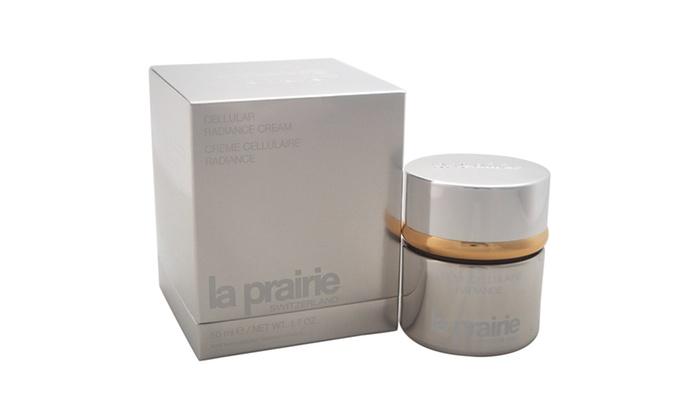 3 Pack - La Prairie Cellular Radiance Night Cream 1.7 oz Health Super Lysine Plus Tangerine Coldstick, 5 Gram, Lip protector and cold sore treatment By Quantum