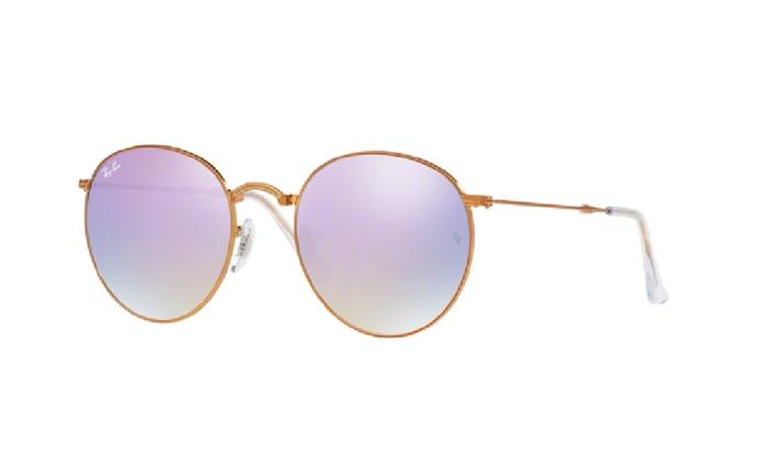 4235ddbb452f9 Ray-Ban Round Metal Folding Sunglasses - RB3532-198 7X-50