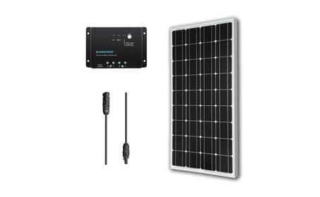 Renogy 100 Watts 12 Volts Monocrystalline Solar Bundle Kit c9c09196-5d04-419a-9185-f0543e8c589c
