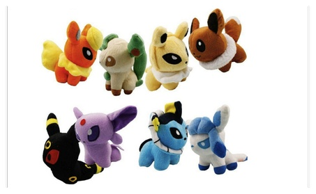 Pokemon 5 inch Stuffed Animal Gift Cute Rare Soft Plush Dolls Toys 83616b29-88dd-47fe-a580-c08825ae6000