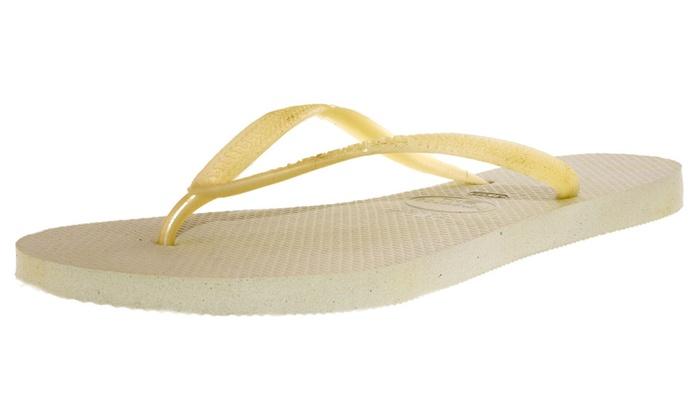 Havaianas Women's Slim Ankle-High Flat Shoe