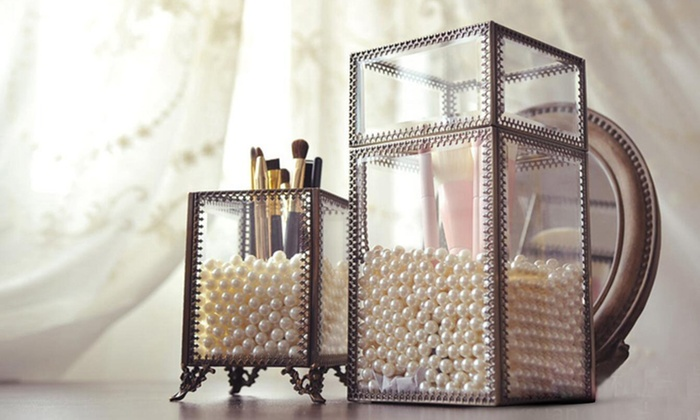 Up To 33 Off on Antique Metal Jewelry Organizer Groupon Goods