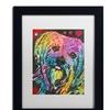 Dean Russo '10' Matted Black Framed Art