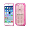 Insten Hard Crystal Tpu Case W Stand For Iphone 6 6s Clear Hot Pink