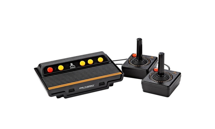 Atari flashback 8 classic game console 105 games with 2 controllers groupon - Atari flashback 3 classic game console ...