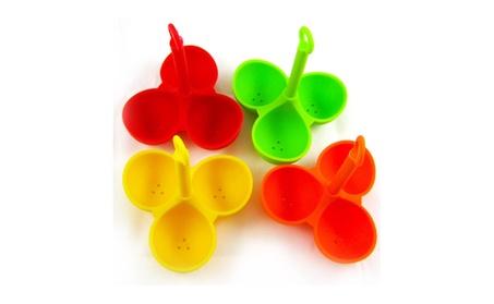 Silicone 3 Egg Boiler Poacher Holder Dipper Cooker Kitchen Tool a55c5bd6-c881-4980-a39c-41eee4894012