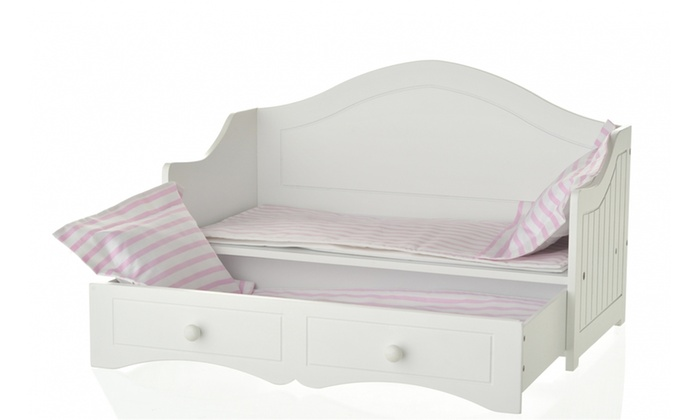 Day bed w trundle groupon for Beds groupon
