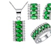 Silver Color Brides Wedding Jewelry Set for Women
