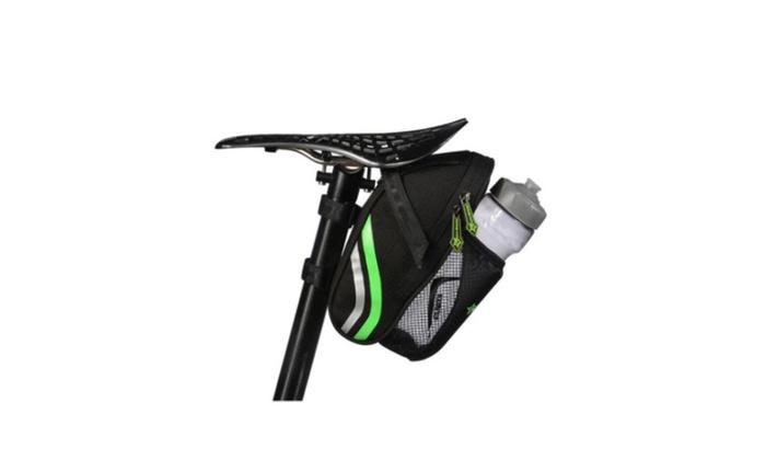 New Compact Bag RockBros Cycling Saddle Bag Tail Storage US