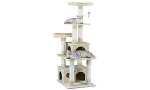 "GoPetClub 67"" Cat Tree Furniture Condo House"