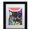 Dean Russo 'Maine Coon' Matted Framed Art