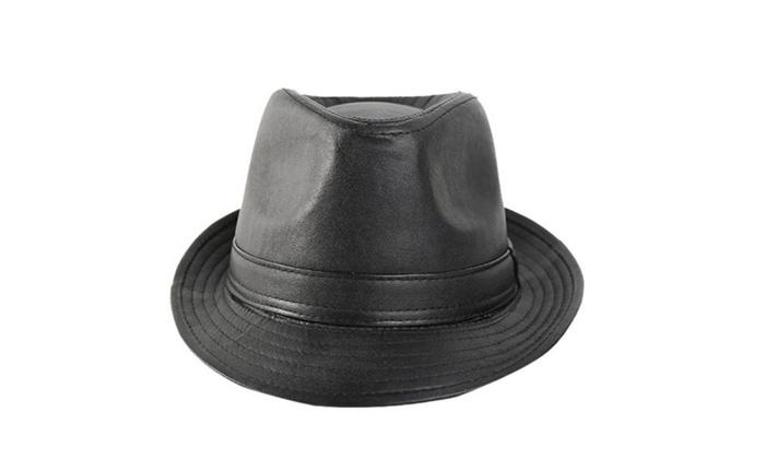 Men's Ornament Simple Solid Casual None Sun Hat - Black / One Size